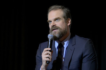David Harbour Netflix's 'Stranger Things' Q&A And Reception