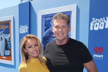 David Hasselhoff Premiere Of Warner Bros. Pictures' 'Smallfoot' - Red Carpet