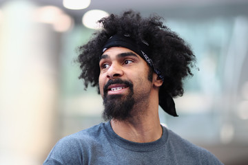 David Haye David Haye Media Work Out