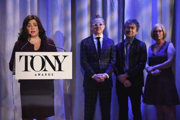 2018 Tony Awards Nominations Announcement [event,performance,award,talent show,electric blue,award ceremony,company,performing arts,stage,charlotte st. martin,tony awards,the new york public library for the performing arts,new york city,nominations announcement,tony awards nominations announcement]