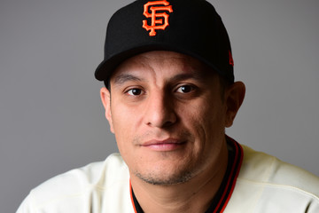 David Hernandez San Francisco Giants Photo Day