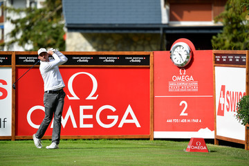 David Howell Omega European Masters - Day One