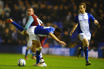 David Jones Birmingham City v Burnley