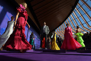 Victoria Lee showcases designs during the David Jones SS19 Season Preview at the Sydney Opera House on August 08, 2019 in Sydney, Australia.