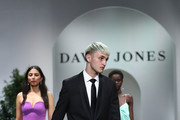 Anwar Hadid showcases designs by Joe Black during the David Jones Spring Summer 18 Collections Launch at Fox Studios on August 8, 2018 in Sydney, Australia.