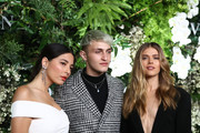 Jessica Gomes, Anwar Hadid and Victoria Lee attend the David Jones Spring Summer 18 Collections Launch at Fox Studios on August 8, 2018 in Sydney, Australia.
