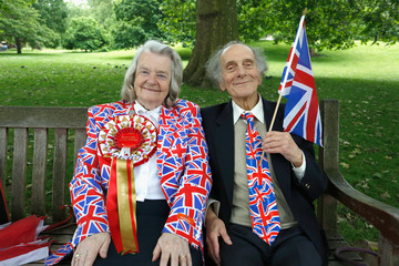 David Jones The Patron's Lunch to Celebrate the Queen's 90th Birthday