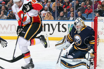 David Jones Calgary Flames v Buffalo Sabres