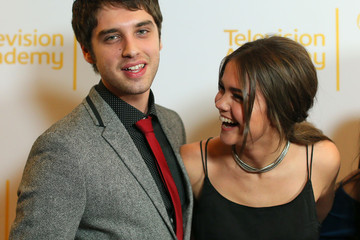 David Lambert Maia Mitchell An Evening with 'The Fosters' in Hollywood