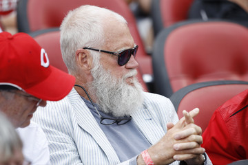 David Letterman St Louis Cardinals v Cincinnati Reds