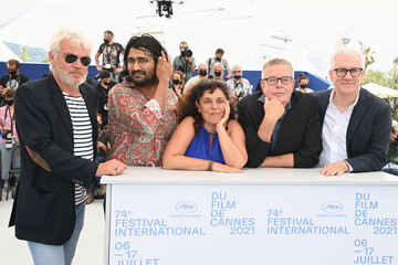 """David Linde Rahul Jain """"Invisible Demons"""" Photocall - The 74th Annual Cannes Film Festival"""