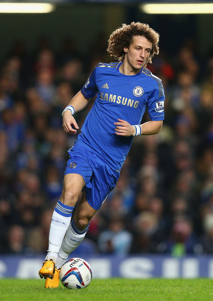 David Luiz - Chelsea v Swansea City - Capital One Cup Semi-Final