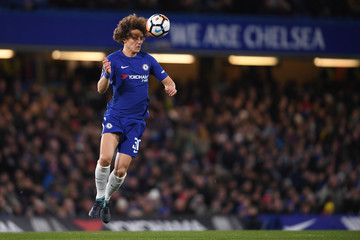 David Luiz Chelsea v Norwich City - The Emirates FA Cup Third Round Replay