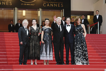 David Lynch Desiree Gruber 'Twin Peaks' Red Carpet Arrivals - The 70th Annual Cannes Film Festival