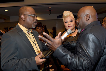 David Mann BET Presents Super Bowl Gospel Celebration - Backstage
