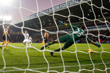 David Marshall West Bromwich Albion v Hull City - Premier League