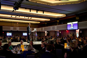 David Miliband IRC Hosts the 2017 Rescue Dinner - Inside
