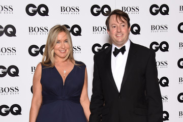David Mitchell Guests Arrive at the GQ Men of the Year Awards