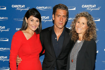 David Muir Annual Charity Day Hosted By Cantor Fitzgerald, BGC and GFI - Cantor Fitzgerald Office - Arrivals
