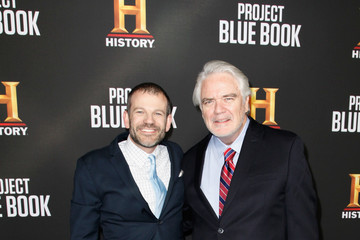 David O'Leary LA Premiere Party For HISTORY's New Drama Project Blue Book""