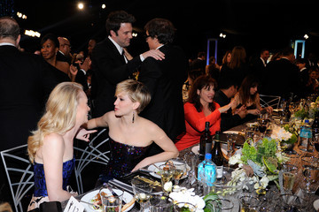 David O. Russell Jennifer Lawrence 20th Annual Screen Actors Guild Awards Show