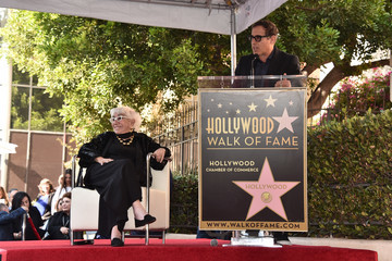 David O. Russell Lina Wertmuller Honored With A Star On The Hollywood Walk Of Fame