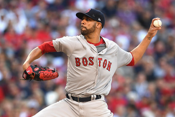 David Price Division Series - Boston Red Sox v Cleveland Indians - Game Two