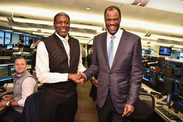 David Robinson Annual Charity Day Hosted By Cantor Fitzgerald, BGC and GFI - Cantor Fitzgerald Office - Inside