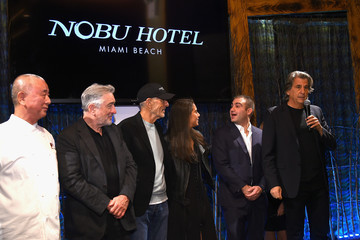 David Rockwell Nobu Hotel Miami Beach Launch VIP Cocktail In NYC