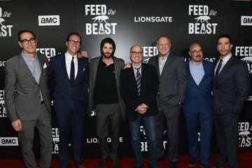 David Schwimmer AMC's 'Feed The Beast' Premiere