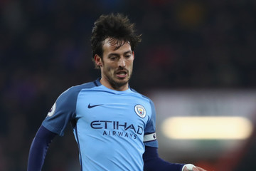 David Silva AFC Bournemouth v Manchester City - Premier League