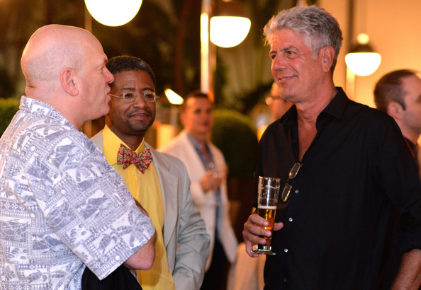 Treme, The Heart Of New Orleans Dinner Hosted By Anthony Bourdain, Susan Spicer, Wylie Dufresne, & Emeril Lagasse - Food Network South Beach Wine & Food Festival