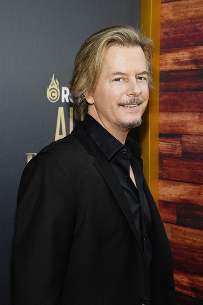 Comedy Central Roast Of Alec Baldwin - Red Carpet [comedy central roast,suit,tuxedo,formal wear,official,white-collar worker,premiere,businessperson,smile,red carpet,alec baldwin,david spade,beverly hills,california,saban theatre]