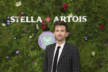David Tennant A Day At The Championships With Official Beer Of The Tournament - Stella Artois