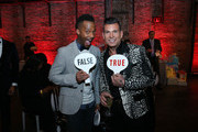 David Tutera (R) and guest attend David Tutera's CELEBrations: Ice-T & Coco's Pre-Birthday Party For Baby Chanel at Cedar Lake Events on October 22, 2015 in New York City.