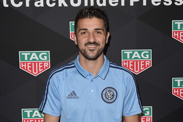 David Villa MLS Media Week - Day 1