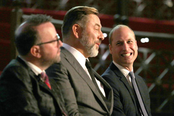 David Walliams Duke Of Cambridge Attends The SkillForce Prince William Awards