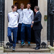 Andy Murray and James Ward Photos