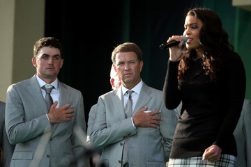 Davis Love III Keegan Bradley 39th Ryder Cup Opening Ceremony