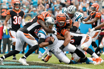 Davontae Harris Cincinnati Bengals vs. Carolina Panthers