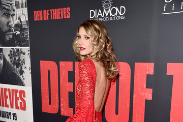 Dawn Olivieri Premiere of STX Films' 'Den of Thieves' - Arrivals