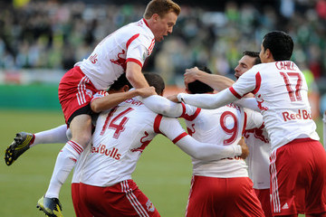 Dax McCarty New York Red Bulls v Portland Timbers