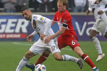 Dax McCarty Los Angeles Galaxy vs. Chicago Fire