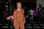 Raquel Sanchez Silva is seen at the Palomo Spain Show during Mercedes-Benz Fashion Week Madrid Spring/Summer 2019 at Museo de Ciencias Naturales on July 8, 2018 in Madrid, Spain.