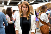 Princess Beatrice of York attends the Markus Lupfer presentation during London Fashion Week Spring Summer 2015 at  on September 13, 2014 in London, England.