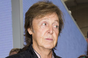 Sir Paul McCartney attends the Hunter Original show during London Fashion Week Spring Summer 2015 at  on September 13, 2014 in London, England.