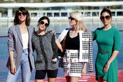 Actresses (L-R) Belen Cuesta, Macarena Garcia, Amaia Salamanca and Blanca Suarez attend 'A Pesar de Todo' photocall dureing the 22th Malaga Film Festival on March 16, 2019 in Malaga, Spain.