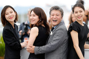 "Actors Kim Saebyuk, Cho Yunhee, Haehyo Kwon and Kim Min Hee attend ""The Day After (Geu Hu)"" photocall during the 70th annual Cannes Film Festival at Palais des Festivals on May 22, 2017 in Cannes, France."