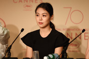 "Kim Min Hee attends the ""The Day After (Geu Hu)"" press conference during the 70th annual Cannes Film Festival on May 22, 2017 in Cannes, France."