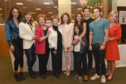 (L-R) Actors Sal Stowers, Lauren Koslow, Maree Cheatham, Peggy McCay, Suzanne Rogers, Lauren Boles, Kristian Alfonso, Billy Flynn, James Lastovic and Mary Beth Evans attend the Days Of Our Lives Book Signing - Barnes And Noble The Grove at The Grove on October 25, 2015 in Los Angeles, California.